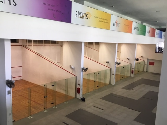 Singapore Polytechnic squash complex